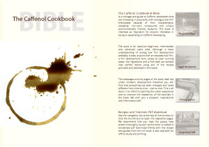 Caffenol Cookbook