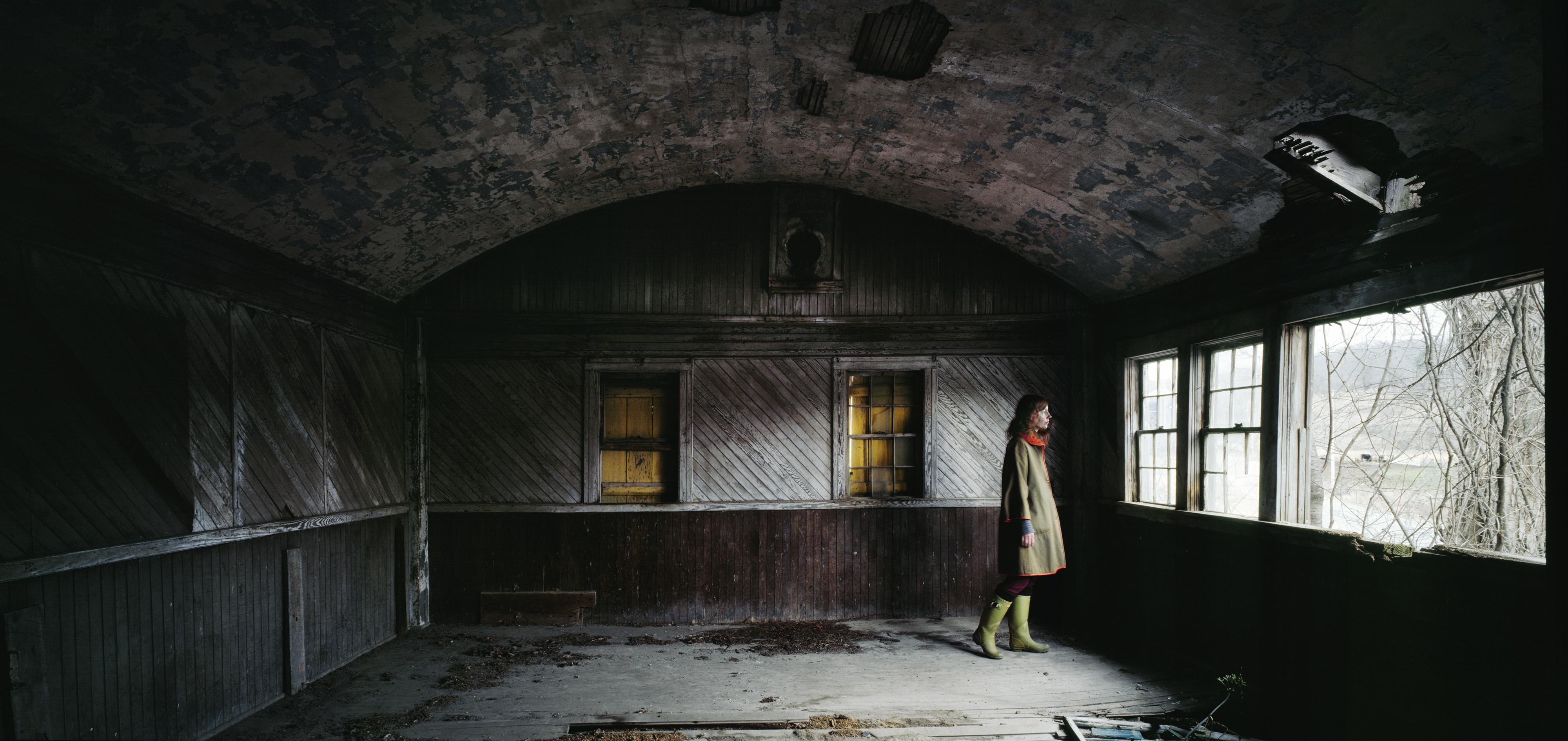 Figure In Window